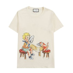 Women Summer T Shirt Fashion Casual Print Short Sleeve Womens Tops Crew Neck Unisex Tees 3 Style