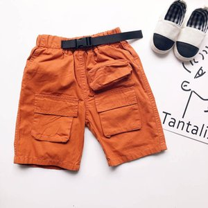 Kids Shorts Children Clothing Summer Boys Clothes Wear Children's Casual Pants Loose Five-Point Knee-Length B6519