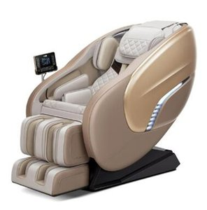 X8 Massage Chair Display Lcd Remote Control Luxury 4D Foot Spa Factory Price Kneading Shiatsu Blue-Tooth Full Body
