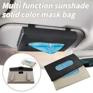 Mask Draw Type Plastic Storage Box Disposable Face Cloth Coverings For Car Multi-purpose Mouth Caps Mascarilla Bags