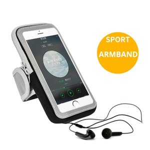 Running Phone Armbands Sport Case Bag Cover 5.8 6.2 6.4 Brassard Telephone Smartphone Arm Holder Gym Exercise On Hand Wrist Cell Cases