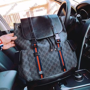 Designer backpack Luxury Brand Purse Double shoulder straps backpacks Women Wallet Real Leather Bags Lady Plaid Purses Duffle Luggage by fenhongbag 01