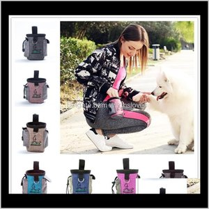 Dog Supplies Home Garden Pet Snack Bag For Cats Dogs Puppy Waterproof Oxford Cloth Training Bags Obedience Hands Agility Bait Food Tre
