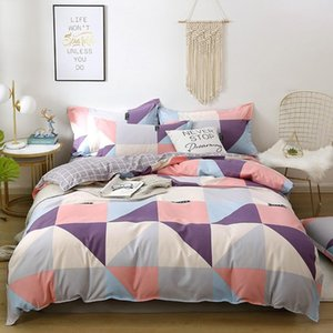 Bedding Sets Set Thickened Pure Cotton Brushed 4PCS Bed Linen Comforter Queen Size