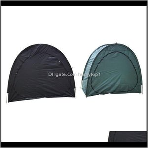 Tents Shelters And Camping Hiking Sports Outdoors Drop Delivery 2021 Direct Sales Parking Bicycle Outdoor Mountain Bike Tent Household Debris