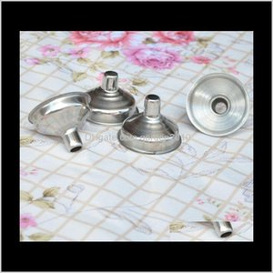 Other Kitchen, Dining Bar Home & Garden Drop Delivery 2021 300Pcs Lot Ra Stainless Steel Flask Mini Wine Funnel Hopper #451654 7Sxei