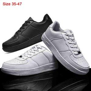 Autumn 2020 Leather Men And Women Sneakers Man Skateboarding Shoes White Breathable Casual Men Black Shoes Zapatillas Hombre 210701