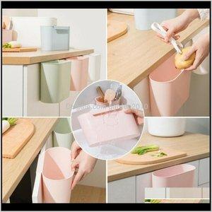 Storage Bottles & Jars Family Kitchen Cabinet Door Plastic Bottle Basket Hanging Trash Can Bin Waste Box Garbage1 82Tm6 4Ucls
