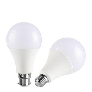product indoor LED bulb plastic 3w 5w 7w 9w 12w 15w 18w 22w E27 B22 lighting lamp