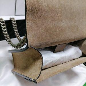 Senhoras Bolsas de Fechamento da Cabeça de Tigre Mulher Pequena 20cm Dionysuis In Sacos Com Capa De Data Caixa De Caixa De Couro Genuíno De Chain Pesado Bolsa De Ombro