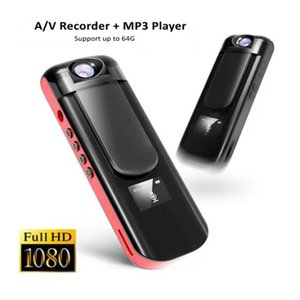 Video Camera Mini Micro Pen Voice Recorder Body Cam Camcorder Full Hd 1080P Lossless Hifi Mp3 Player With Rotating Lens Camcorders