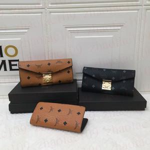 3 farbe frauen designer taschen brieftaschen für frauen 2021 designer damen handtaschen Münzbörse Hohe Qualität Reißverschluss Brieftasche