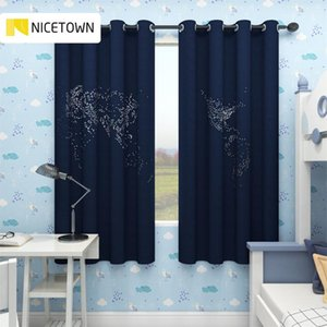 Curtain & Drapes NICETOWN 36 Colors Hollow Circle Curtains For Living Room Grommet Decorations Gift Home Window Bedroom