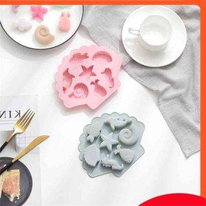 3D Creative Ocean World Fondant Silicone Mold Fish Seahorse Shape Cake Baking Tool DIY Chocolate Ice Cube