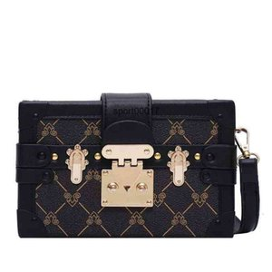 Wholesale classic clutch bag handbags Evening Bags lady purse Leather Fashion Box messenger Shoulder women tote