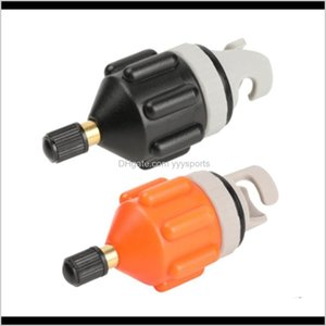 Accessories Durable Wearresistant Rowing Boat Air Vae Adaptor Nylon Kayak Inflatable Pump Adapter For Sup Board Wcw4G Aewgc