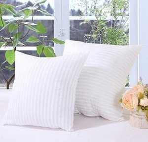 Squre Pillow Inserts for Mermaid PP Cotton Stuffed Cushion magic face Core Polyester Striped Covers 45*45cm DHD10641