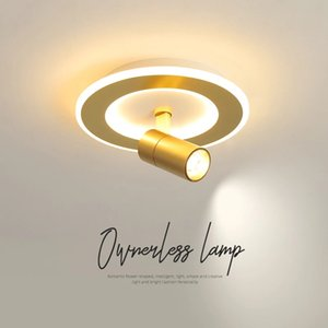 Creative ceiling light living room background wall mounted spotlight corridor aisle balcony commercial shopping mall clothing store spotlamp R277
