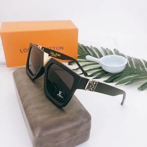 Sunglasses For women and men Summer style Anti-Ultraviolet 1485 Retro Shield lens Plate Rectangle full frame fashion Eyeglasses Z1485E with Box case