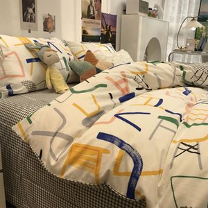 Bedding Sets Fashion Colorful Design Chair Set Kid Teen Adult,cotton Twin Full Queen Home Textile Bed Sheet Pillow Case Quilt Cover