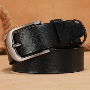 fashion belts brand Luxury for mens belt designer belt top quality pure copper buckle bets leather male chastity belt 100~125cm