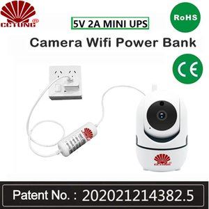 5V2A Mini DC Round Adapter Uninterruptible Power Supply UPS Provide Emergency Stability to CCTV Camera with Battery Built-in