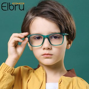 Childrens Anti-blue Light Glasses Frame Square Boy Girls Computer Optical Glasses Soft Frame Kids Anti-ultraviolet Eyeglasses