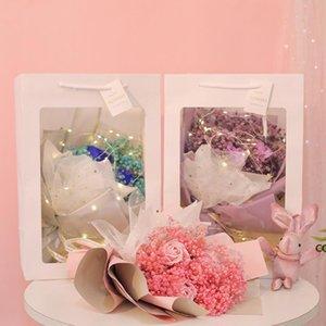 Christmas Valentine Day Gift Dried Artificial Flower Gypsophila Bouquet Creative Eternal Gypsophila Bouquet Soap Flower DHE9893