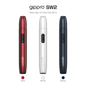 Gippro Japan SW2 heat not burn kit E-Cigarettes with micro USB charging interface restores the taste of real cigarettes wholesale DHL