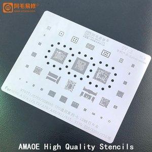 Cell Phone Repairing Tools MT6771 MT6763 SDM660 CPU EMMC For Oppo A3 A1 A73 A79 A83 R11 R15 X BGA Reballing Stencil Tin Reball Solder Templa