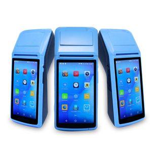 Handheld Terminal Android 8.1 PDA Restaurant Shop Cash Registers Wireless Bill Machine Thermal Receipt Printer Printers