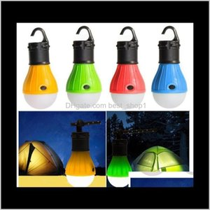 Lampsshades Portable Lantern Led Mini Tent Light Bulb Emergency Waterproof Hanging Hook Flashlight Working Camping Energysaving Lamp B Ctnfy