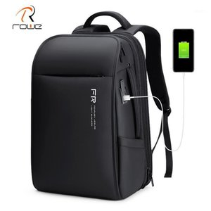 Rowe Backpack Men Waterproof Multifunction USB Charging 17.3 Inch Laptop Backpacks Fashion Expandable Business Travel Backpack1