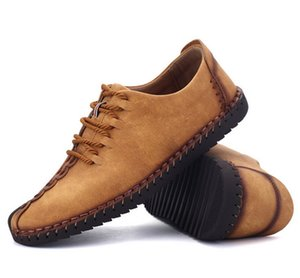 Large size men's shoes without rubber business leather 38-48