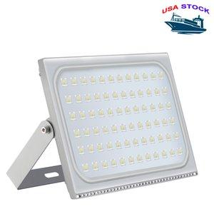 USA Stock Outdoor Lighting LED Floodlights AC110V 220V IP65 Waterproof Suitable For Warehouse, Garage, Factory Workshop, Garden