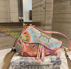 Borse da donna Lussurys Designer Borse 2021 Borse di alta qualità Zouzhoubao123 Portafoglio Portafoglio Borsa a tracolla Borsa Crossbody Bads Classic Saddle Must-have shoul