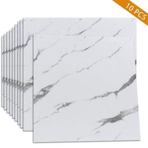 Wallpapers Self-adhesive Floor Tiles Sticker Marble Wallpaper Waterproof Non-slip Kitchen Backsplash Peel And Stick 30x30cm