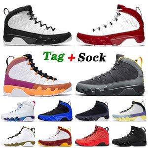 nike air jordan retro 9 9s 2021 Zapatillas de baloncesto de alta calidad 9 9s Hombres Mujeres Gimnasio Red Jumpman Change The World Space Jam Zapatillas de deporte deportivas