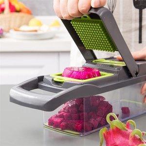 Новый 7 в 1 овощной резак для резака еда слайсер диксер приятнее овощные фрукты резак резак морковный сыр терка # 0826G30 201201 899 R2