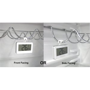 With frost alarm digital LCD Fridge Freezer Thermometer Thermograph for Refrigerator