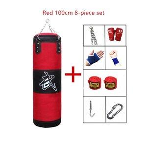 Boxeo vacío Sandbag Hogar Fitness Gancho Colgante Patte Bolsa de perforación Entrenamiento Fight Karate Punch Muay Arena Thai