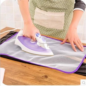 Nuevo almohadilla de planchado de planchado de planchado de alta temperatura Aislamiento protector del hogar contra tableros de almohadillas de presión Paño de malla EWF7638