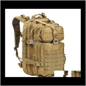 34L Tactical Assault Pack Army Водонепроницаемая BUG OUT Сумка Маленький рюкзак Для Открытый Туризм Кемпинг Охота на 3WZNC NDC9G