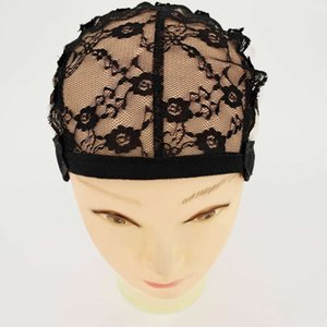 Bh-006 mechanism adhesive paper elastic cap bottom adjustable wig inner net front lace head cover
