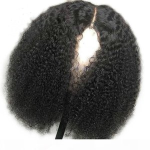 Small Kinky Curly Lace Front Wigs For Black Women Human Hair Pre Plucked Full Lace Wigs Kinkys Curly 360 Frontal Wigs