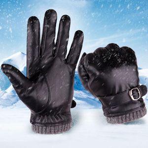 Fingerless Gloves Men Winter Keep Warm Motorcycle Ski Snow Snowboard Comfortable L50 1226