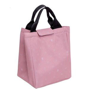 for Waterproof Women Kids Men Cooler Box Tote Canvas Lunch Bag Insulation Package Jllrzp