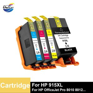 Ink Cartridges OCINKJET For 915XL Remanufactured Cartridge Third Party Suitable OfficeJet 8010 8012 8013 8014 8015 8017 8018 8020