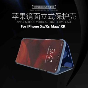 Suitable for new 12 Pro Max electroplating mirror vertical leather Apple 7 mobile phone case iPhone XR