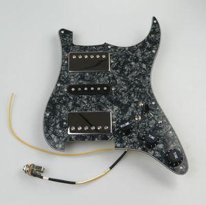 Guitar Pickups Prewired Pickguard AlNiCo5 Humbucker Pickups HSH Style guitar parts For Strat guitar